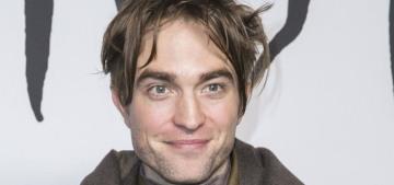 Robert Pattinson debuted a 'greasy Jedi' look at the Dior menswear show
