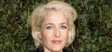 Gillian Anderson rumored to play Margaret Thatcher on 'The Crown'