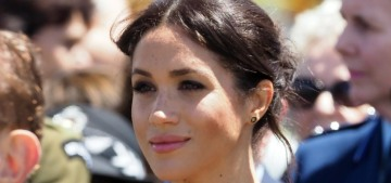 Duchess Meghan had a 'private meeting' with New Zealand's prime minister Ardern