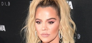 Khloe Kardashian falls asleep with a face full of makeup now that she's a mom