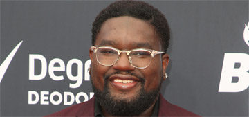 Lil Rel Howery didn't realize he had a stunt double for Bird Box and did it himself