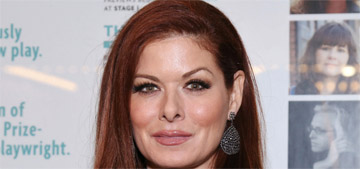 Debra Messing wants Ellen to set her up with someone