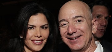 Jeff Bezos & Lauren Sanchez 'are very much together' & 'plan to move in together'