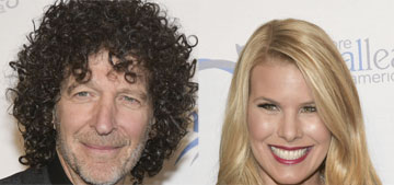 Beth and Howard Stern eat at 4, go to bed at 8 and wake up at 5: goals?