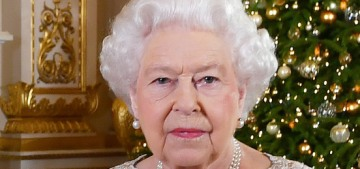 Did Queen Elizabeth make a political statement about Brexit in a recent speech?