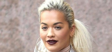 Rita Ora believes that she's the victim of the fashion industry's sizeism too