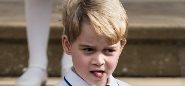 Prince George introduced himself as 'Archie' to a stranger in Berkshire