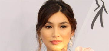 Gemma Chan in Oscar de la Renta at the SAGs: amazing and gorgeous?