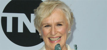 Glenn Close won Best Actress at the SAGs in a Ralph Lauren pantsuit: boss?