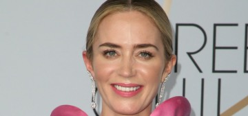 Emily Blunt in Michael Kors at the SAG Awards: Pepto-pink disaster?