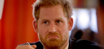 Prince Harry referenced his impending fatherhood at a Commonwealth event