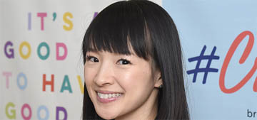 Marie Kondo: Most people have three times the amount that they think