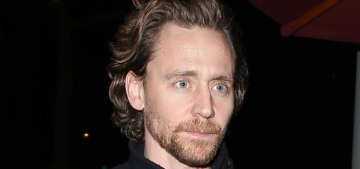 Tom Hiddleston stepped out solo at celeb hotspot Craig's in West Hollywood