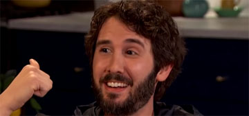 Josh Groban has a theory that aliens are us from the future after nuclear war