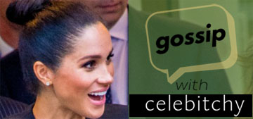 'Gossip With Celebitchy' podcast #4: Meghan's 'fake' pregnancy, Celine's angel lover