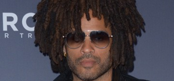 Lenny Kravitz feels he's 'really ready' for a forever-love at the age of 54