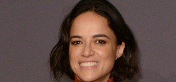 Michelle Rodriguez: Liam Neeson isn't racist, because he made out with Viola Davis