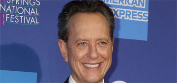 Richard E. Grant likes to smell people like dogs do, can remember their smell