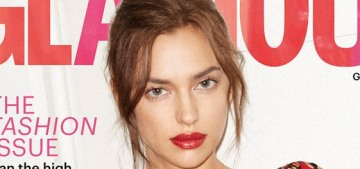 Irina Shayk: 'I love to eat, and I don't believe in diets. I'm lucky with my genes'