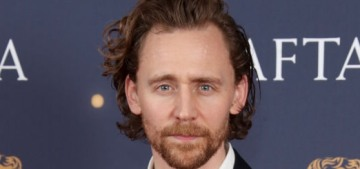Tom Hiddleston celebrated his 38th b-day by doing a lot of BAFTA events