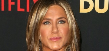 Brad Pitt attended Jennifer Aniston's big 50th birthday party at the Sunset Tower