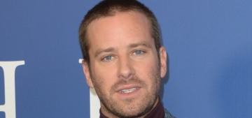 Armie Hammer pontificates on white privilege & how he doesn't feel like a Millennial