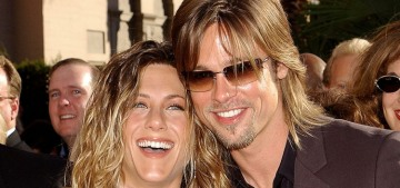 Jennifer Aniston 'debated back and forth' about inviting Brad Pitt to her b-day party