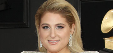 Meghan Trainor in white Christian Siriano at the Grammys: fashionable or fug?