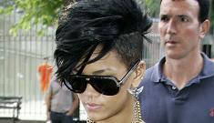"""Rihanna's new buzz cut"" morning links"