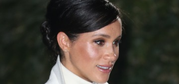 Duchess Meghan wore Calvin Klein to the Natural History Museum gala