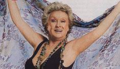 Cloris Leachman posing in a bathing suit at 83 (update: bigger pic)