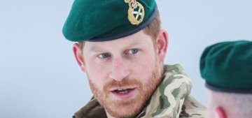 Happy Valentine's Day, here's Prince Harry in uniform, in the Arctic Circle