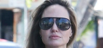 Angelina Jolie steps out with Pax, they went shopping on Melrose in LA