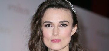 Keira Knightley in Chanel at the London premiere of 'The Aftermath': unflattering?