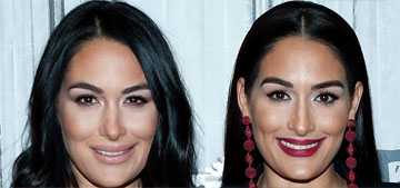 Nikki & Brie Bella thought they had a mini pig growing up but it was a full size pig