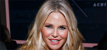 Christie Brinkley: If I'm lucky, I will be running around with my hard-earned wrinkles