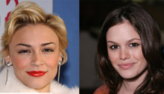 Samaire Armstrong thinks she could kick Rachel Bilson's ass