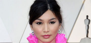 Gemma Chan in Valentino at the Oscars: quilt-like but still incredible?
