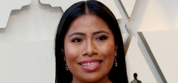 Yalitza Aparicio in Rodarte at the Oscars: lovely and understated?