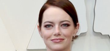 Emma Stone in bronze Louis Vuitton at the Oscars: stunning or too structural?