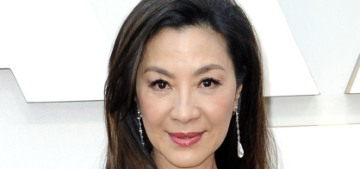 Michelle Yeoh in Elie Saab at the Oscars: traditionally pretty or just boring?