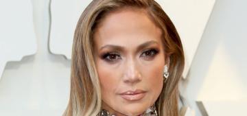 Jennifer Lopez & Bradley Cooper in Tom Ford: who seemed more glum?