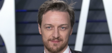James McAvoy had celebrities sign his shirt and plans to auction it for charity
