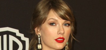 Taylor Swift attended the Oscar parties with Joe Alwyn and no security