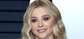 Chloe Grace Moretz: Waitressing is the hardest thing I've ever done