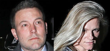 Ben Affleck & Lindsay Shookus are back together again because this is their pattern