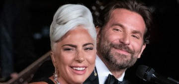 Lady Gaga shuts down the still-happening rumors that she's with Bradley Cooper