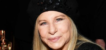 Barbra Streisand & Spike Lee really did get along famously at the Oscars