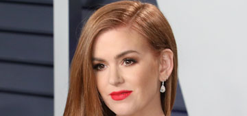 Isla Fisher: Gentlemen will say inappropriate things to me about being a redhead