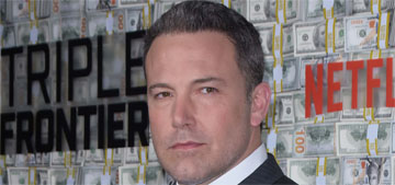 Ben Affleck did the A-Rod 10 day challenge: 'By the end I had three bagels'